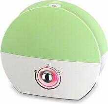 JRBB Luftbefeuchter Beleuchtung Home mute Schlafzimmer große Kapazität Nebel Luftbefeuchter Beleuchtung Büro Aroma