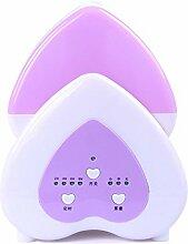 JRBB Luftbefeuchter Beleuchtung Home mute Schlafzimmer kleinen, klimatisierten Zimmer office Desktop mini Befeuchtung Maschine (Lila