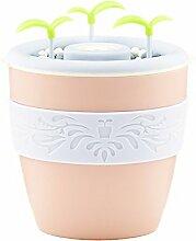 JRBB usb - töpfen home office stumm diy - mini luftbefeuchter gepflanzt,pink