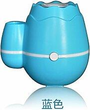 JRBB zu hause stumm schlafzimmer büro usb eingeschoben mini - air luftbefeuchter mini - schreibtisch auffüllung,blau