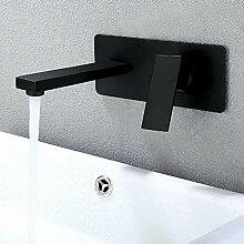 JRUIA 2-Loch-Unterputz Waschtischarmatur Bad