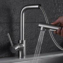 JRUIA Ausziehbarer Küche Wasserhahn