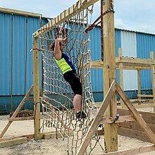 JRYⓇ Kletternetz für Kinder, Balkon Schutznetz