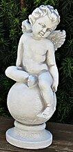 JS GartenDeko Deko Figur Statue junger Engel