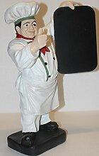 JS GartenDeko e.K. Dekofigur Figur Koch | Weiß