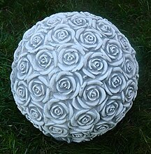 JS GartenDeko Gartenskulptur Dekoelement Rosen