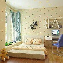 JSDJZSH Alphabet Kinderzimmer Wanddekoration