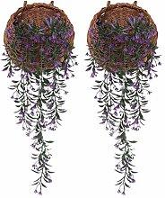 JSJJAES Künstliche Blume 2 stücke künstliche