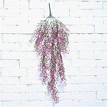 JSJJAES Künstliche Blume Künstliche Hängende