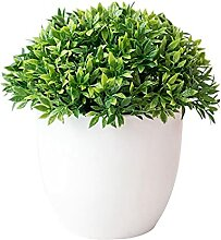 JSJJAES Künstliche Blume Künstliche Pflanze Gras
