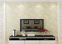 JSLCR Warmen rosa Schlafzimmer Wohnzimmer Tapete, non-Woven Tuch lila koreanischen Heimat Tapete,Schüchtern, rosa
