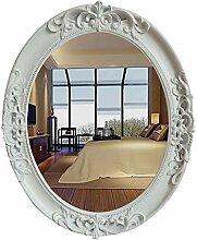 JSSFQK Badspiegel Wandspiegel Spiegel Spiegel Oval