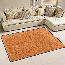 Jsteel Teppich, waschbar, weich, für