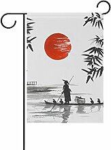 jstel Home Japanische Malerei Mann mit
