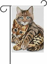 jstel Home Kätzchen Watercolor
