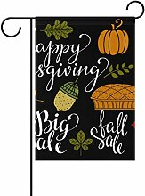 jstel Home Polyester-Autumn Leaves Thanksgiving