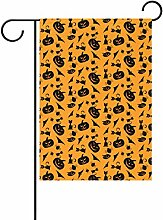jstel Home Polyester-Halloween-Garten Flaggen Lovely und Schimmelresistent Custom von Wasserdicht 30,5x 45,7cm, Verschiedene Materialien, multi, 28 X 40 inch