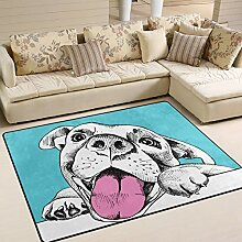 JSTEL INGBAGS Super weicher, moderner Hundeteppich