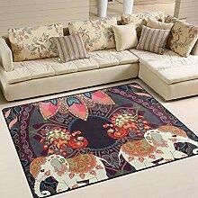 JSTEL INGBAGS Teppich für Paare mit