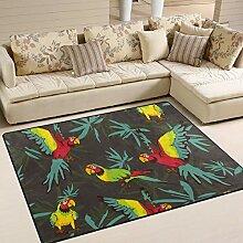JSTEL INGBAGS Teppich für Papageien, sehr weich,