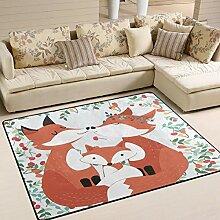 Jstel Ingbags Teppich in Fuchs-Design, für