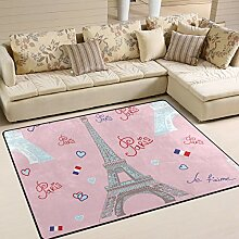 JSTEL INGBAGS Teppich, sehr weich, modern, Weiß
