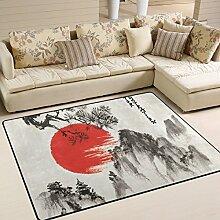 JSTEL Super Soft modernen japanischen Landschaft,
