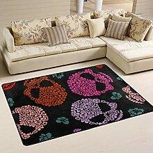 JSTEL Waschbarer weicher Teppich mit