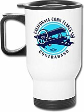 JSTF Car cup Becher California Dope Edelstahl