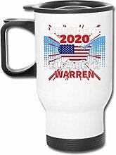 JSTF Car cup Becher Warren für Präsident 2020