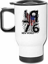 JSTF Car cup Tasse American1976 Edelstahl
