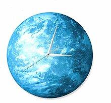 JT Glühende Wanduhr Beleuchtet Zeiger Erde Uhren