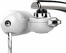 JTD Wasserhahn-Filter, Wasserfilter mit 8 Stufen, für Trinkwasser in der Küche, Wasserhähne, Filterung von Leitungswasser ohne Chlor-Fluor, Bakterien, Viren, Chemikalien Pestizide, Kalk, einfache Montage