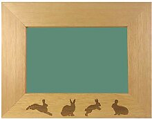 JTS Designs Bunny Kaninchen Design Gravur Holz