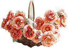 JTSYH Künstliche Blume Kunstblume Rose Lulian