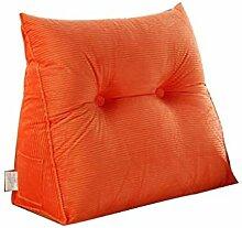 JTZR Bedside Großes Kissen Bett Rückenlehne