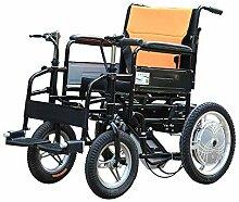 JU FU Elektrischer Rollstuhl, doppelter Griff