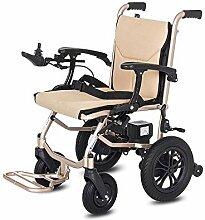 JU FU Rollstuhl, Aluminium-faltender elektrischer