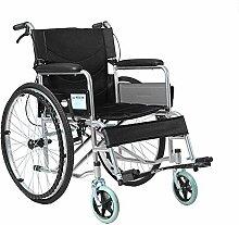 JU FU Rollstuhl - faltender Rollstuhl Schubkarre