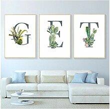 Juabc wandmalerei dekorative Bilder Pflanzen