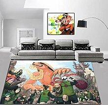 juan Teppich Kinderzimmer Esszimmer Cartoon Anime