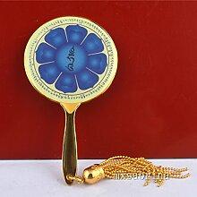 juanxian Feng Shui Acht Blütenblatt Lotus Spiegel