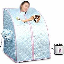 JUEJIDP Dampfsauna-Box nach Hause ▏ Dampfraum