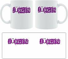 Jürgen-Grunge, Design-Becher aus Keramik,