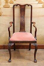 Jugendstil Armlehnen Stuhl - Sessel