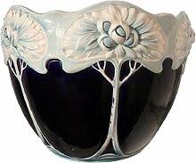 Jugendstil Keramikvase, 1910er