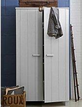 Jugendzimmer Kleiderschrank in Grau Kiefer
