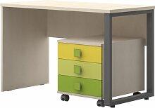 Jugendzimmer - Schreibtisch inkl. Rollcontainer