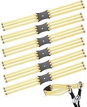 JUHONNZ Ersatzgummibänder,6 Stück 6-Streifen
