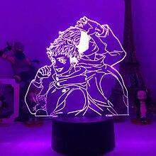 Jujutsu Kaisen 3D-Lampe, Anime-Design, LED-Licht,